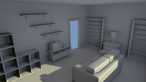 WIP Tv Room by turnbuckle