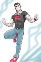 Sketchbook-Superboy by LucianoVecchio