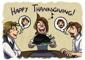 Chameleon Charm: Happy Thanksgiving! by forte-girl7