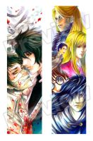 Shin Angyo Onshi_bookmarks by SheCow