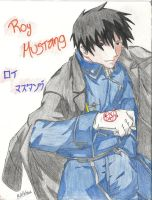 Roy Mustang Color by MichHatake