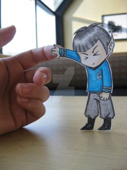 Spock :Paper Child: by Yuffie1972
