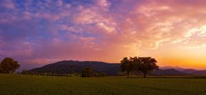 land in front of the alps by photoplace