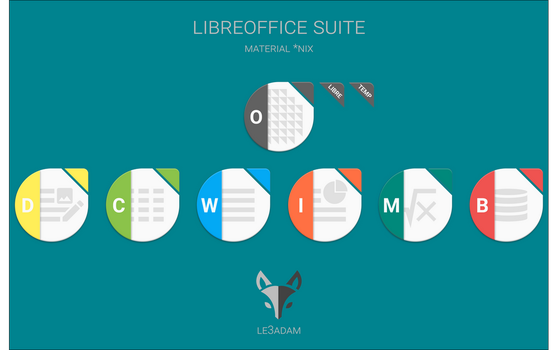 LIBREOFFICE SUITE by LE-3