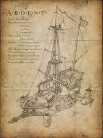 Ardent - Airship by tacticangel