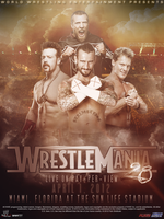 WWE: Wrestlemania 28 (V.2) by PainSindicate