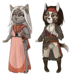 Wee Adopts 3 by danielleclaire
