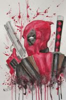 Deadpool by NicoleHansche