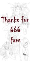 Thanks for 666 favs by gaixas1