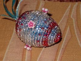 Egg with Beads by jolabrodnica