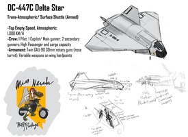DC-447 Delta Star Dropship by Csp499