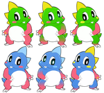 Bub n Bob color variations by aftertaster7