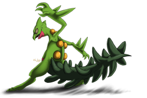 Jake the Sceptile by Cattensu
