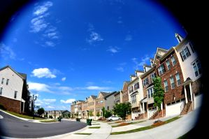 Fisheye Townhomes by LDFranklin