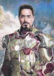 Iron Man drawing (VIDEO IN DESCRIPTION) - 2013 by andrecamilo20