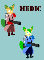 Leaf as Medic by MasaBear
