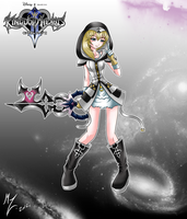 RE namine master keyblade by mauroz