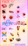 Pack Vectores 1Casi 1000 +Watchers by xBonbons