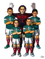 [2014 World cup Edition] A team : Mexico by sakiroo