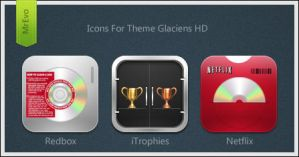 Glaciens HD Extra Icons by Mr-Evo