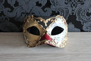 Venetian Mask 1 by sacral-stock