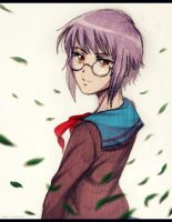 Yuki Nagato by AlexExecutioner666