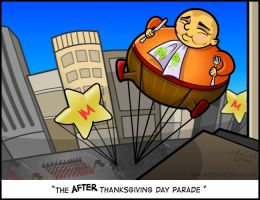 After Thanksgiving Day Parade by Art-by-Andy