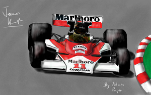 James Hunt M23D (updated) by Ratmanxx