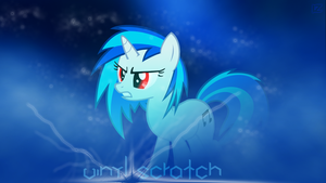 Wallpaper Vinyl Scratch by InfernuZ