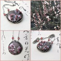 Hanami-necklace by Eire-handmade