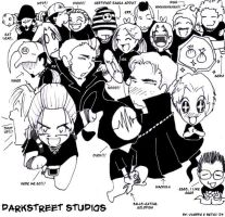 DarkStreet Studio - The Gang by darkstreetstudios