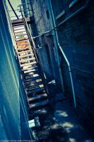 Grungy Stairs by kstarksphoto