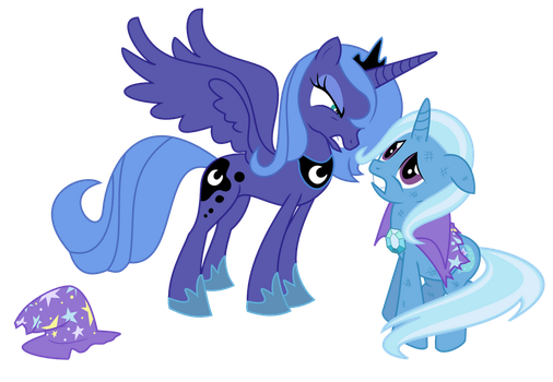 Luna vs. Trixie by adcoon