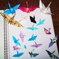 Origami III by WolfDagger369