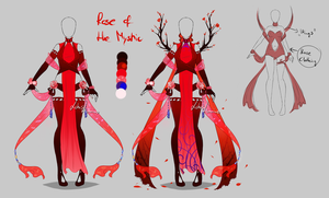 Outfit design - Rose of the Mystic - closed by LotusLumino