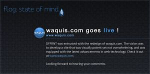 waquis.com is live. by vijay-dffrnt