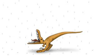 Thirsty Raptor Wallpaper by tacostandwallpapers