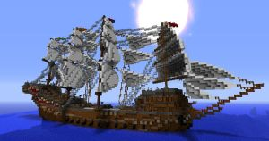 Epic Naval Ship On Voxelbox by Adcaro