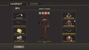 My Tf2 Loadout:Bloody Spy by toamac