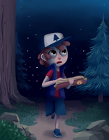 Dipper Pines by verrmont