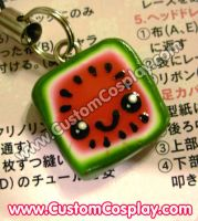 Square melon charm by The-Cute-Storm