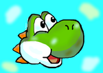 Yoshi Concurso Paint Game Hero Megacable by chacs