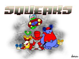 The Squeaks by kavublaze