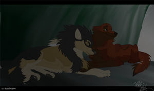 DotW Art: Two Lovers by ButtGrapes