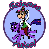 Science Rules by Syggie