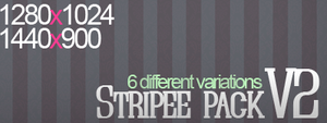 Stripee Wallpaper pack V2 by AlienBiobsy