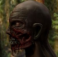 Zombie in Profile by BenHinman