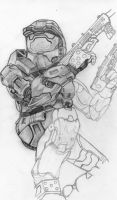 Halo 2 (WIP) by deathlouis