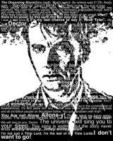 tenth doctor word collage by ColinGhastslayer