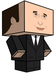 Phil Coulson Cubeecraft 3D-model by JagaMen